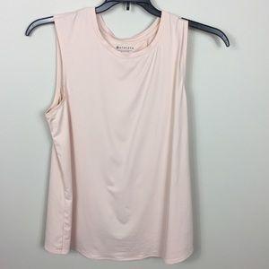 Athleta Blush Pink Tank w/ Split Back M